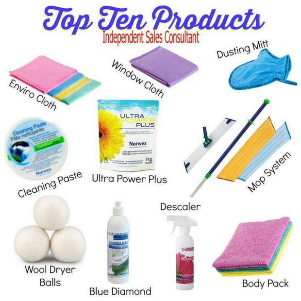 norwex review products