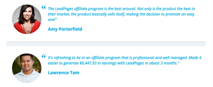 best recurring affiliate programs leadpages