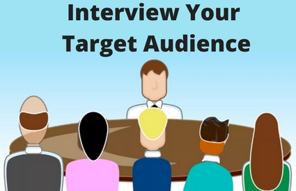 how to blog for income interview target audience