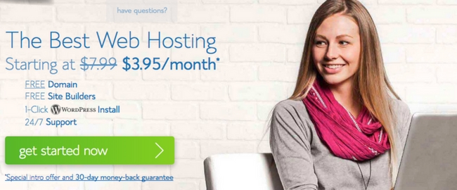 wordpress blog setup service bluehost