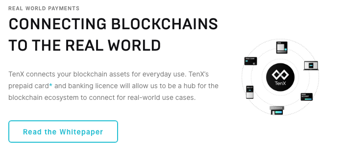 tenx connecting blockchains to the real world