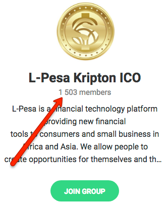 l-pesa telegram group