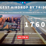 Trident Crypto Fund – Airdropping 176,000 TDC Tokens
