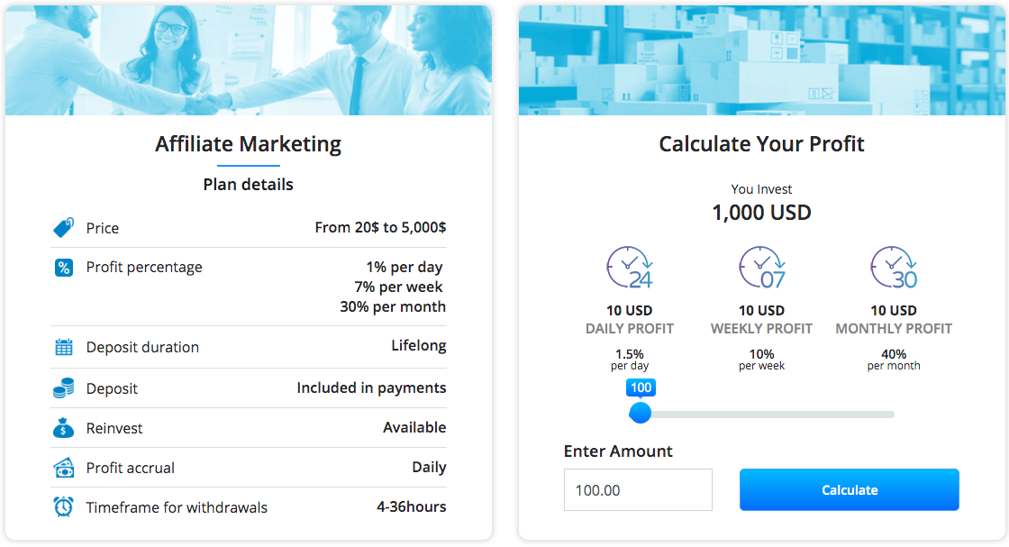 affiliate marketing calculator