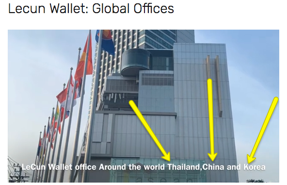 lecun wallet global offices