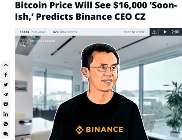 torque trading system binance ceo predicts 16k bitcoin