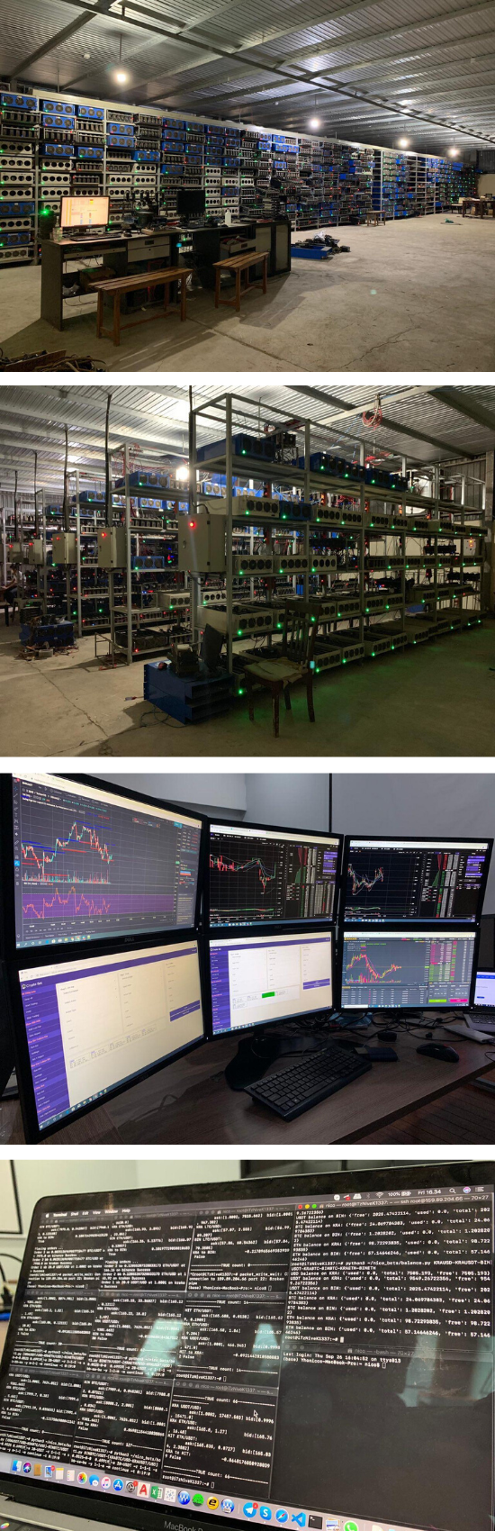 torque trading system mining facility