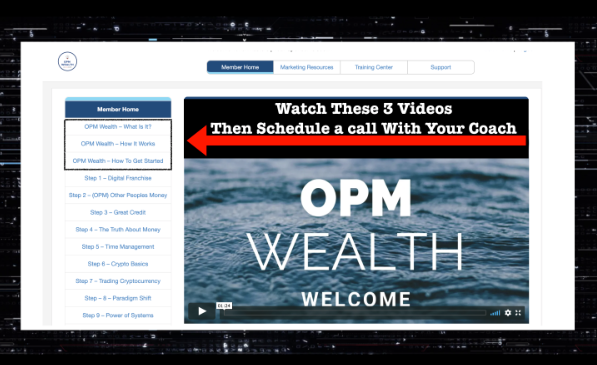 watch these three videos with opm